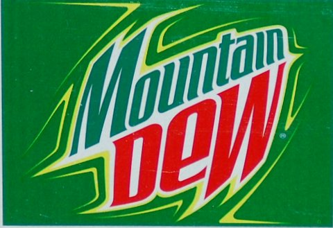 He did the Dew...